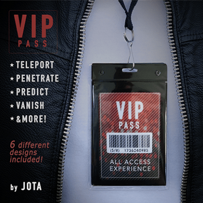 VIP PASS (Gimmick and Online Instructions) by JOTA - Trick