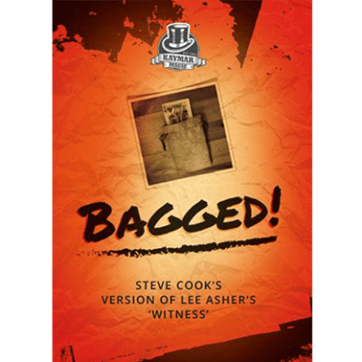 Bagged! (Gimmick and online instructions) by Steve Cook and Kaymar Magic - Trick