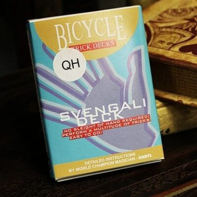 Bicycle Svengali Deck Red (Queen of Hearts) - Trick