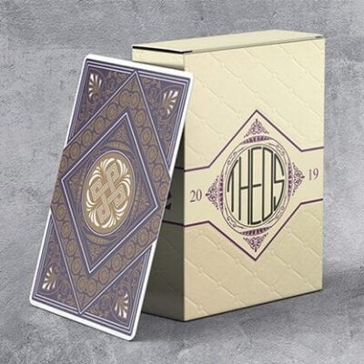 Limited Edition Theos Playing Cards (Purple)