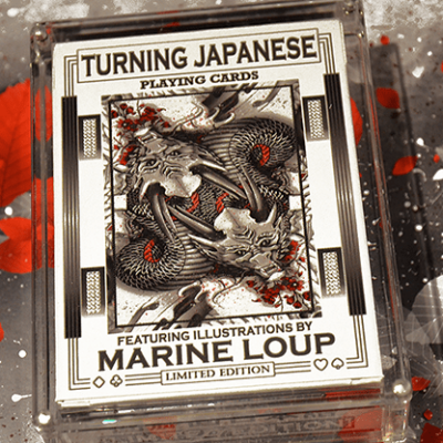 Limited Edition Turning Japanese Playing Cards by Craig Maidment