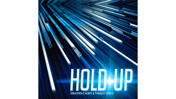 HOLD UP Red (Gimmick and Online Instructions) by Sebastien Calbry - Trick