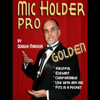 Pro Mic Holder (Golden) by Quique marduk - Trick