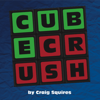 Cube Crush (Pack of 50) by Craig Squires - Trick