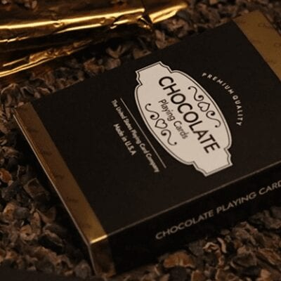 Limited Edition Chocolate Playing Cards