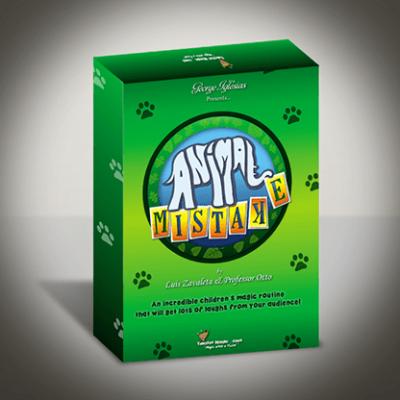 Animal Mistake by Luis Zavaleta & Professor Otto by Twister Magic - Trick