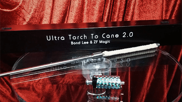 Ultra Torch to Cane 2.0 (E.I.S.) by Bond Lee & ZF Magic - Trick