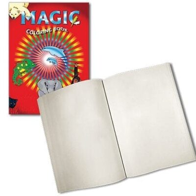 Magic Coloring Book (Blank pages) by Vincenzo Di Fatta Magic - Trick