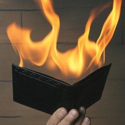 Fire Wallet by Tora Magic - Trick