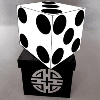Dice and Silk (Zebra) by Tora Magic - Trick
