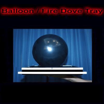 Balloon/Fire Dove Tray by Tora Magic - Trick
