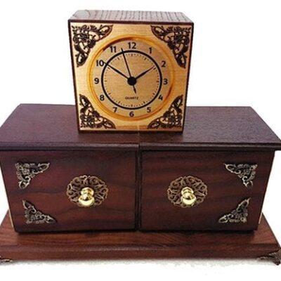 Antique Clock Box by Tora Magic - Trick