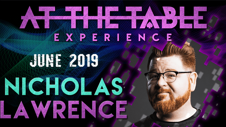 At The Table Live Lecture Nicholas Lawrence June 19th 2019 video DOWNLOAD