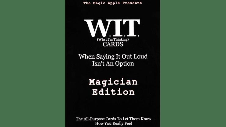 WIT Cards by Duppy Demetrius & Brent Geris - Trick