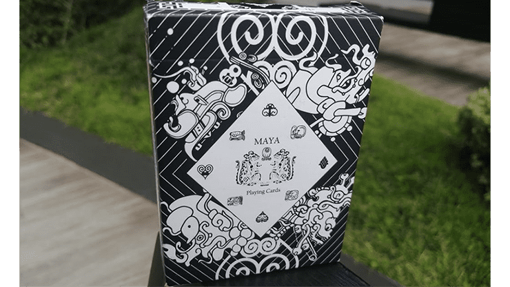 Maya Playing Cards Magic White