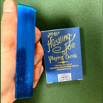 Limited Edition Hustling Joe Blue Gilded (Gnome Back) Playing Cards