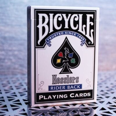 Hesslers Rider Back (Blue) Playing Cards
