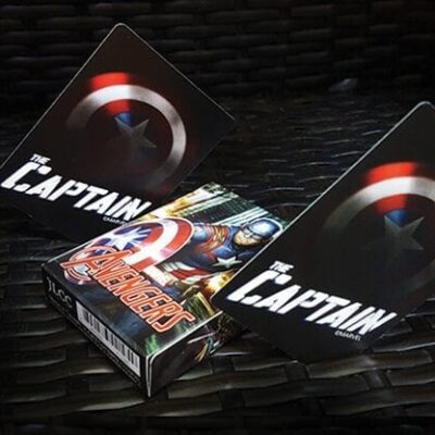 Avengers Captain America Playing Cards