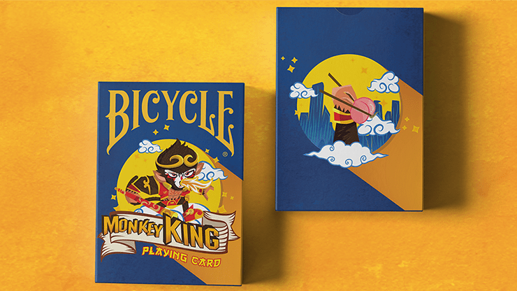 Bicycle Monkey King Playing Cards by Riffle Shuffle