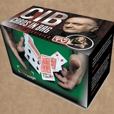CIB: Cards In Bag (Gimmicks and Instructions) by Dominique Duvivier - Trick