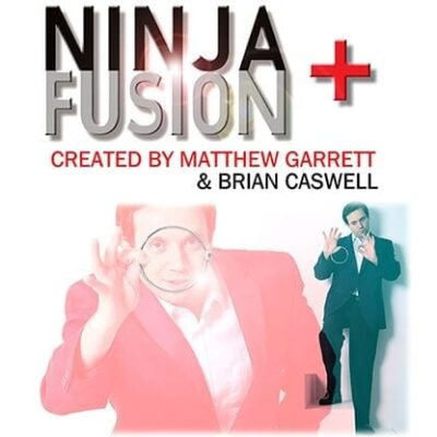 Ninja+ Fusion in Black Chrome (With Online Instructions) by Matthew Garrett & Brian Caswell - Trick
