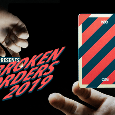 Broken Borders 2019 Playing Cards by The New Deck Order