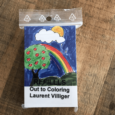 Refill (50) for Out To Coloring by Laurent Villiger - Trick
