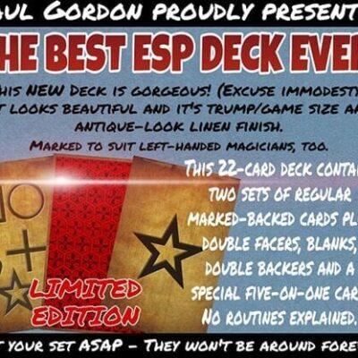 ANTIQUE EFFECT ESP by Paul Gordon - Trick