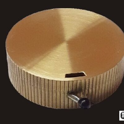 Jumbo Reel (Brass) by Mr. Magic - Trick