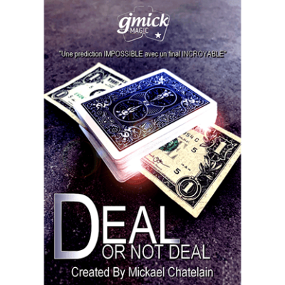 DEAL OR NOT DEAL Red (Gimmick and Online Instructions) by Mickael Chatelain - Trick