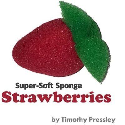 Super-Soft Sponge Strawberries by Timothy Pressley and Goshman - Trick