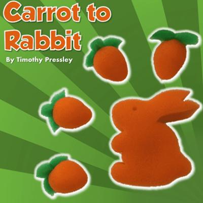 Sponge Carrot to Rabbit by Timothy Pressley and Goshman - Trick