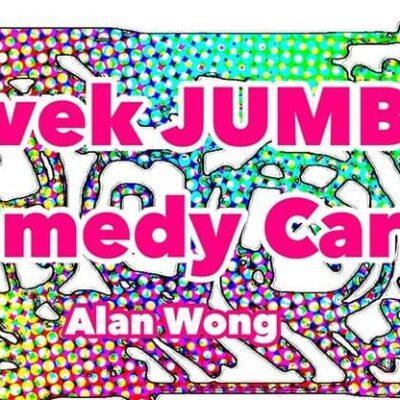 Tyvek Comedy Card Jumbo by Alan Wong - Trick