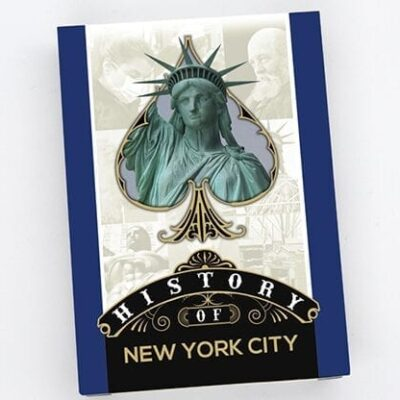 History Of New York City Playing Cards