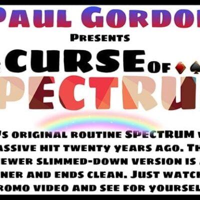 The Curse of Spectrum by Paul Gordon -Trick