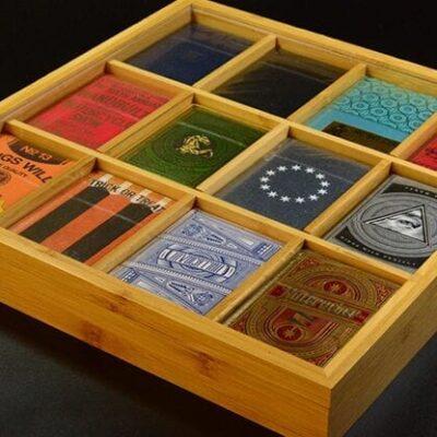 Carat Bamboo 4x3 12 deck Display