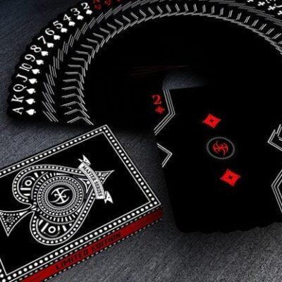Black Platinum Lordz Playing Cards (Standard)