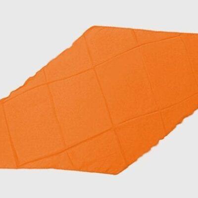 Diamond Cut Silk 18 inch (Orange) by Magic By Gosh - Trick