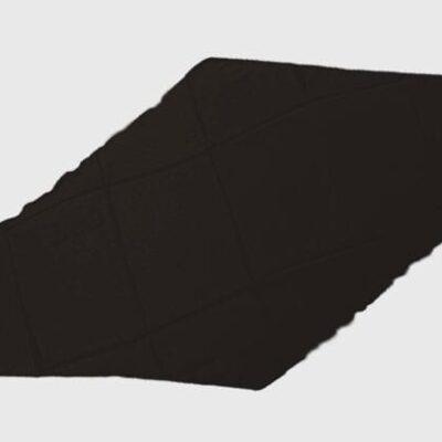 Diamond Cut Silk 18 inch (Black) by Magic By Gosh - Trick