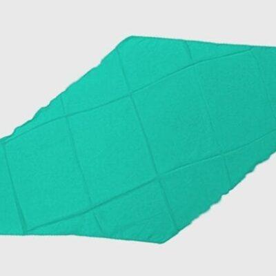 Diamond Cut Silk 18 inch (Turquoise) by Magic By Gosh - Trick