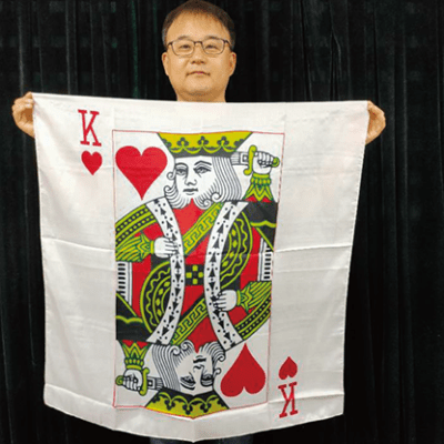 "King Card Silk 36"" by JL Magic - Trick"
