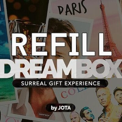 DREAM BOX GIVEAWAY / REFILL by JOTA - Trick