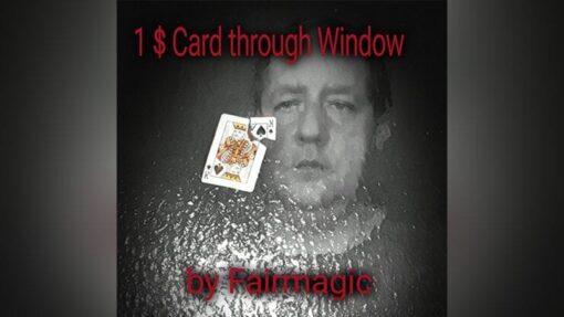 1$ Card Through Window by Ralf Rudolph aka' Fairmagic video DOWNLOAD