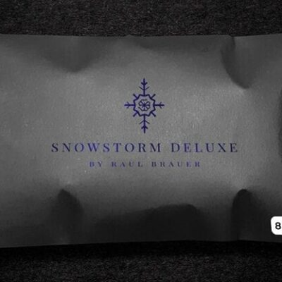 Snowstorm Deluxe (White) by Raul Brauer - Trick