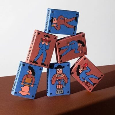 Henry & Sally Playing Cards by Art of Play