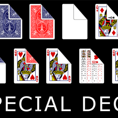 Bicycle Special Deck Playing Cards (plus 11 Online Effects)