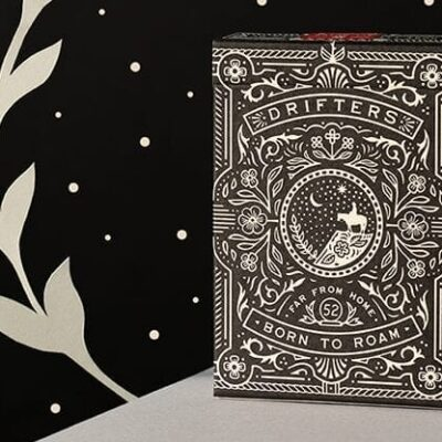 Drifters (Black) Playing Cards
