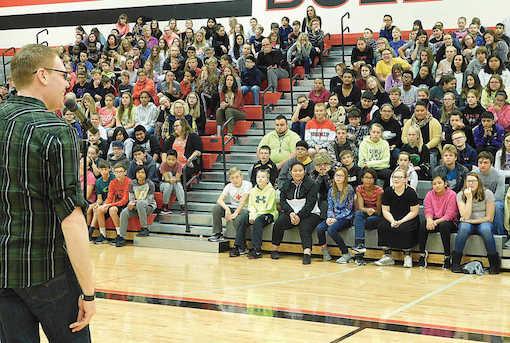 Jeff Veley School Assembly Gym