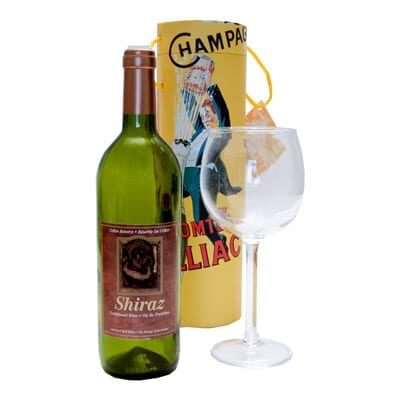 Airborne Wine And Glass by Visual Magic- Trick