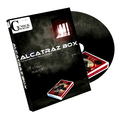 Alcatraz Box (BLUE Gimmick and DVD) by Mickael Chatelain - DVD
